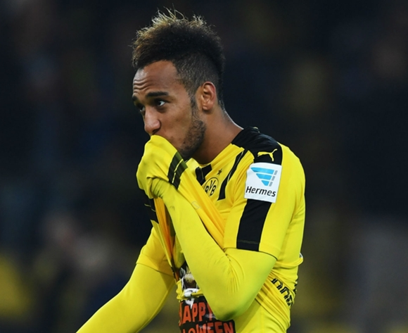 Arsenal deny interest in Aubameyang