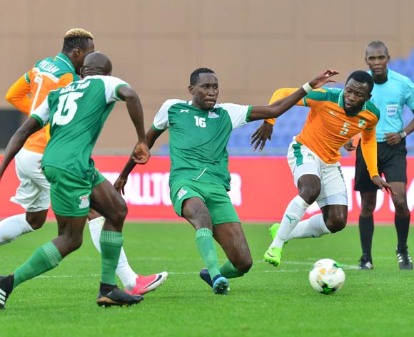 Augustine Mulenga double takes Zambia to second win