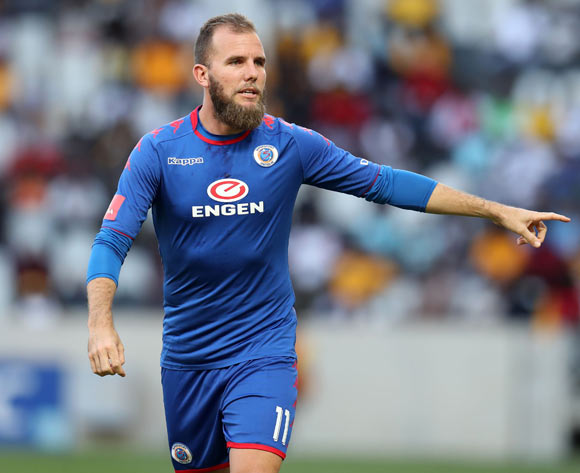 Jeremy Brockie of Supersport United during the Absa Premiership 2017/18 match between Supersport United and Kaizer Chiefs at Mbombela Stadium, Mpumalanga South Africa on 06 January 2018 ©Muzi Ntombela/BackpagePix