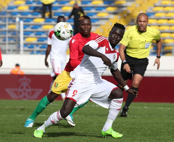 Saifeldin Malik Bakhit of Sudan during the 2018 Chan football game between Guinea and Sudan at Stade Mohammed V in Casablanca, Morocco on 14 January 2018 ©Gavin Barker/BackpagePix