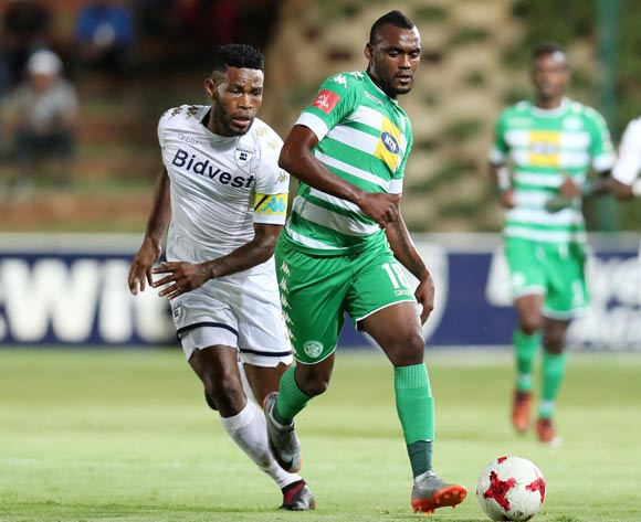 Given Mashikinya of Bloemfontein Celtic challenged by Thulani Hlatshwayo of Bidvest Wits  during the Absa Premiership 2017/18 match between Bidvest Wits and Bloemfontein Celtic at Bidvest Stadium, Johannesburg South Africa on 19 January 2018 ©Muzi Ntombela/BackpagePix
