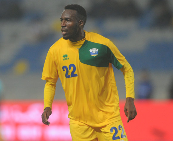 Soter Kayumba of Rwanda during the CHAN Group C match between Rwanda and Equatorial Guinea on 19 January 2018 at Grand Stade de Tanger, Tanger Morocco Pic Sydney Mahlangu/BackpagePix