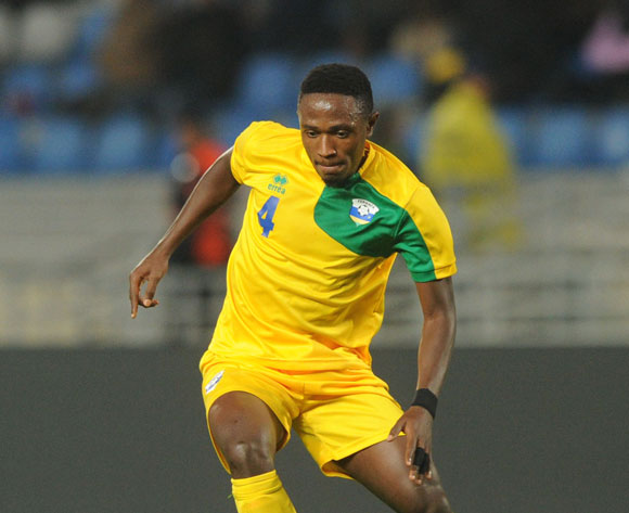 Djihad Bizimana of Rwanda during the CHAN Group C match between Rwanda and Libya on 23 January 2018 at Grand Stade de Tanger, Tanger Morocco Pic Sydney Mahlangu/BackpagePix