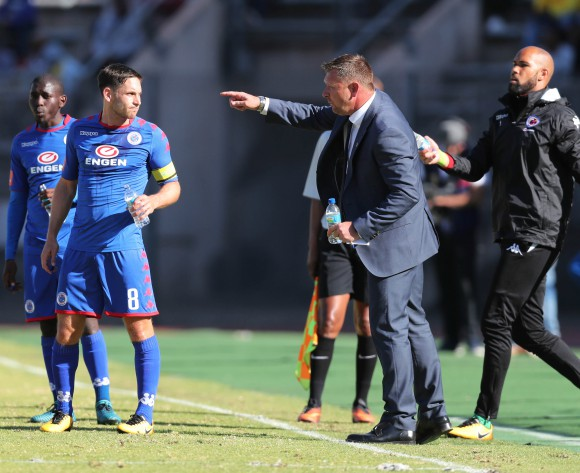 SuperSport United coach Eric Tinkler denies issues with Jeremy Brockie