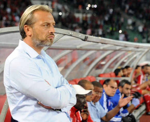 Uganda coach Sebastien Desabre hurt by Zambia loss