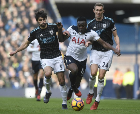 Victor Wanyama makes Spurs return