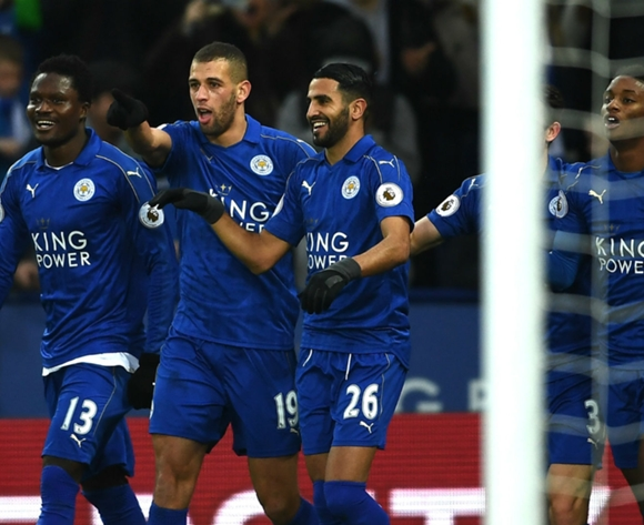 Leicester City boss wants to keep Algerian duo Mahrez and Slimani