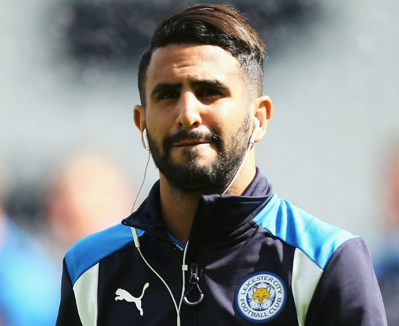 Riyad Mahrez is happy at Leicester City