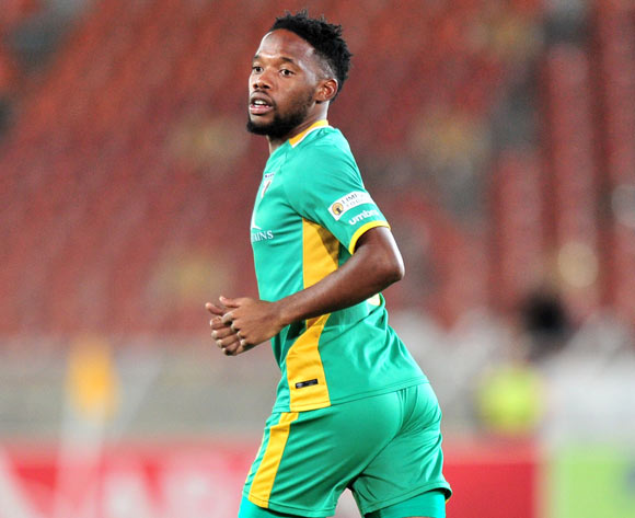 Mduduzi Mdantsane of Baroka during the Absa Premiership 2017/18 match between Baroka and Cape Town City at Peter Mokaba Stadium, Polokwane on 27 February 2018 ©Samuel Shivambu/BackpagePix