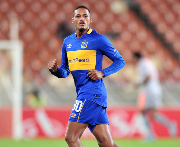 Craiq Martin of Cape Town City FC during the Absa Premiership 2017/18 match between Baroka and Cape Town City at Peter Mokaba Stadium, Polokwane on 27 February 2018 ©Samuel Shivambu/BackpagePix