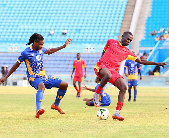 Tshepo Matete of Township Rollers during the 2018 CAF Champions League football match between Township Rollers and EL Merreikh at National Stadium,Botswana on 10 February 2018 ©/BackpagePix