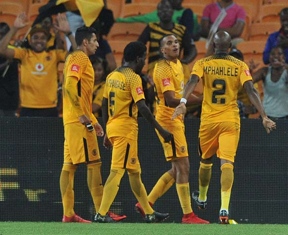 Ryan Moon of Kaizer Chiefs celebrates goal during the Absa Premiership match between Kaizer Chiefs and Cape Town City on 17 February 2018 at  FNB Stadium Pic Sydney Mahlangu/BackpagePix