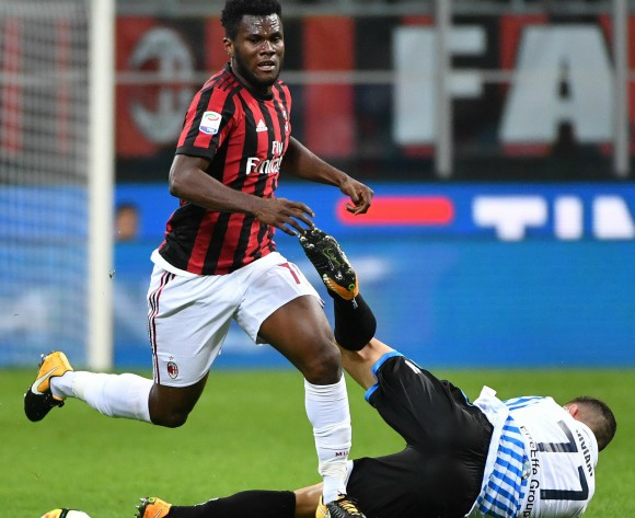 Franck Kessie happy with first Milan season