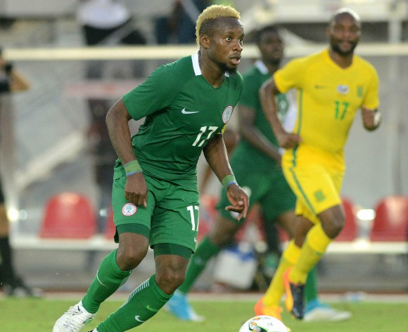 Ogenyi Onazi happy with new Nigeria kit ahead of FIFA World Cup
