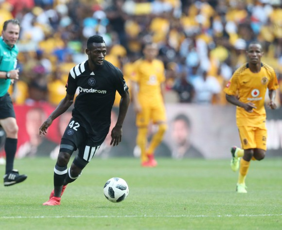 Zambian Augustine Mulenga happy with Soweto derby debut