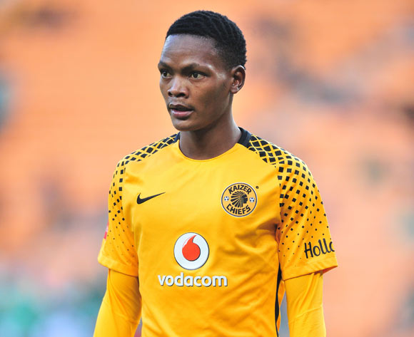 Wiseman Meyiwa of Kaizer Chiefs during the Absa Premiership 2017/18 match between Kaizer Chiefs and AmaZulu at FNB Stadium, Johannesburg on 17 March 2018 ©Samuel Shivambu/BackpagePix