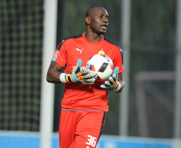 Sundowns' Denis Onyango ready for physical battle against Rayon Sport