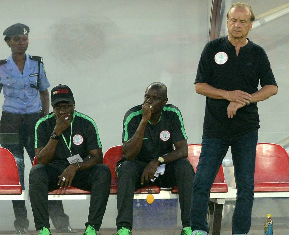 The loss to South Africa still haunts Nigerian coach Gernot Rohr