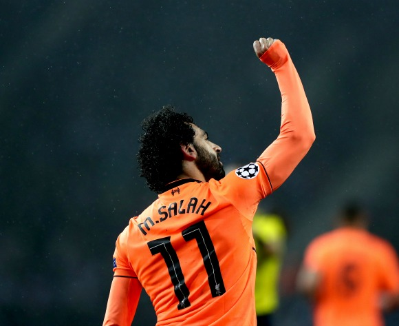 Egypt's Mohamed Salah takes the EPL Player of the Month Award