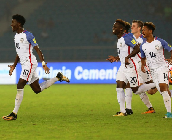 US striker and son of Liberian legend George Weah, Tim Weah devastated by World Cup qualification failure