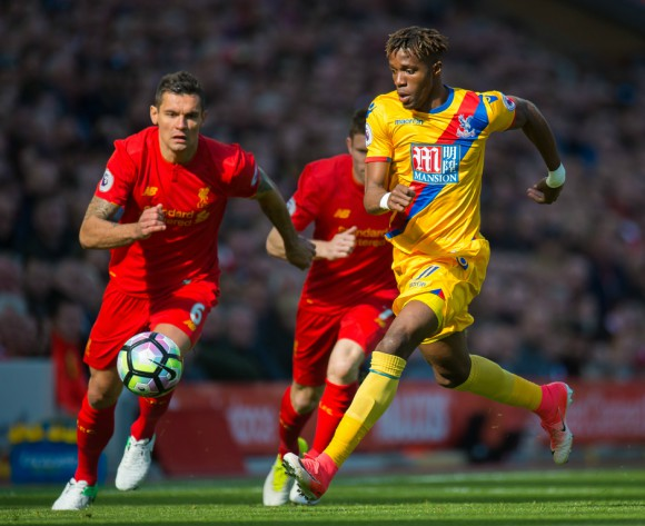 Hodgson: Ivorian Zaha is Crystal Palace's best player