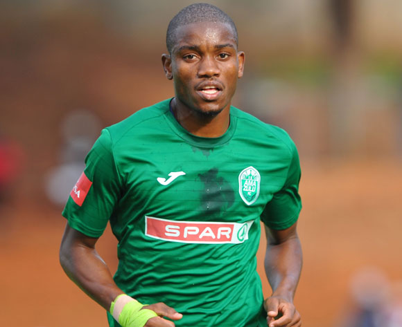 Ovidy Karuru of AmaZulu during the Absa Premiership match between Bidvest Wits and AmaZulu 28 April  2018 at Bidvest Stadium  Pic Sydney Mahlangu/BackpagePix