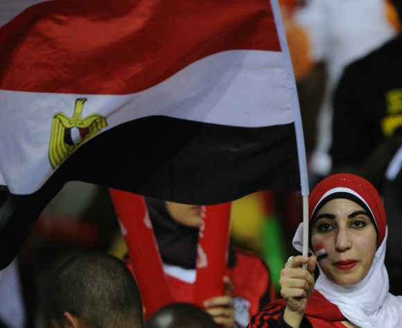 Egyptian fan cycles to Russia for World Cup