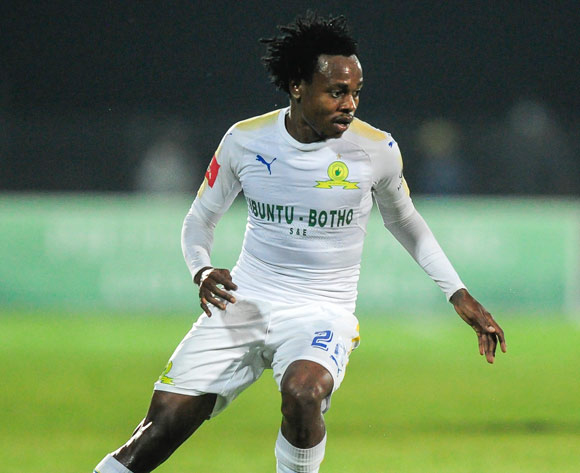 Percy Tau of Mamelodi Sundowns FC during the Absa Premiership 2017/18 game between Maritzburg United and Mamelodi Sundowns at Harry Gwala Stadium in Pietermaritzburg on 25 April 2018 © Gerhard Duraan/BackpagePix