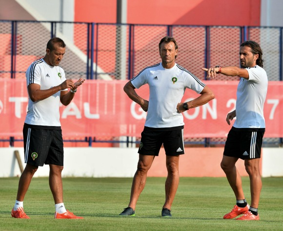 Morocco's Herve Renard rejects exit rumours