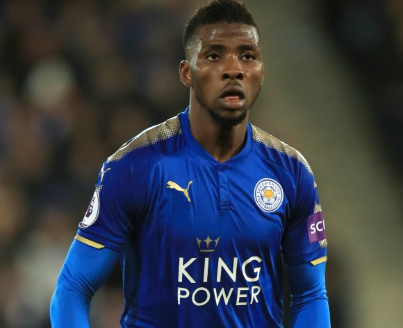 Kelechi Iheanacho congratulates Man City for EPL glory