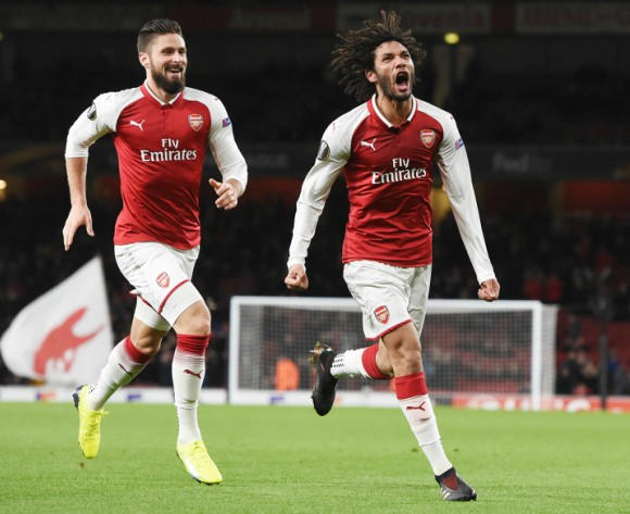 English FA reverses Mohamed Elneny's red card