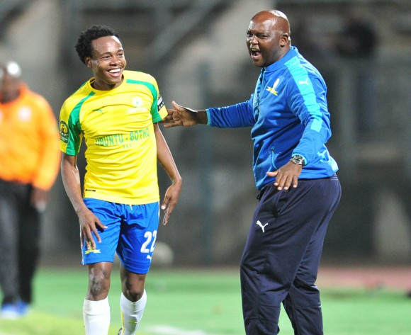 Mamelodi Sundowns' Pitso Mosimane says he doesn't have to motivate his players