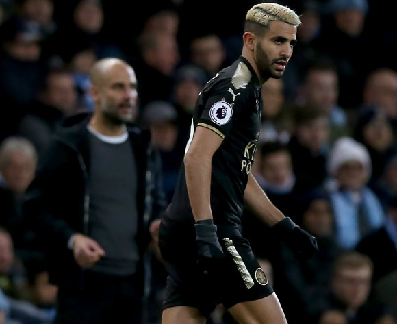 Leicester City line-up Riyad Mahrez replacement