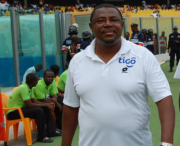 Asante Kotoko give their full backing to coach Paa Kwesi Fabin