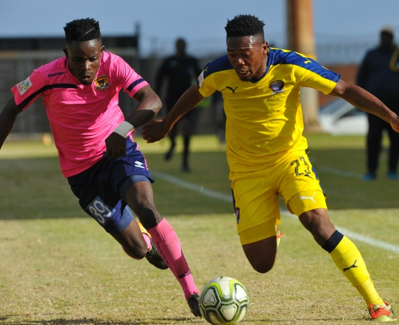 Jomo Cosmos hold Black Leopards