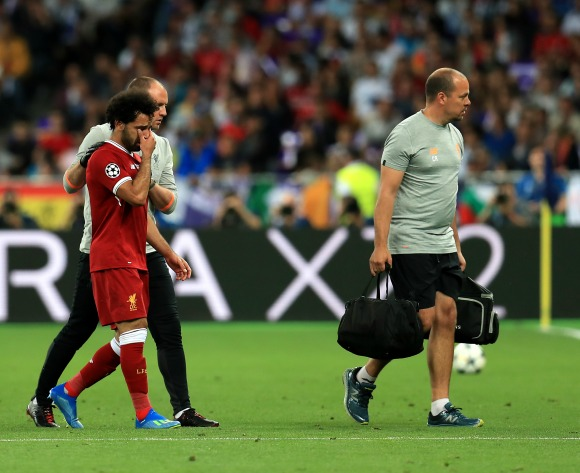 WORLD CUP FOCUS: Egypt president wishes Mohamed Salah speedy recovery