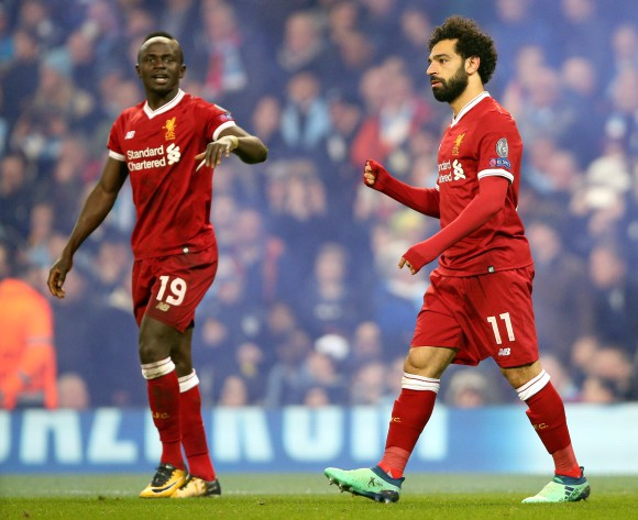 Mohamed Salah, Sadio Mane chase Champions League glory