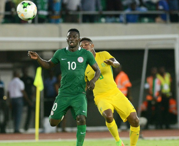 Nigeria's Oghenekaro Etebo expects a great match at Wembley