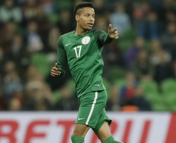 Nigeria's Tyronne Ebuehi signs for Benfica