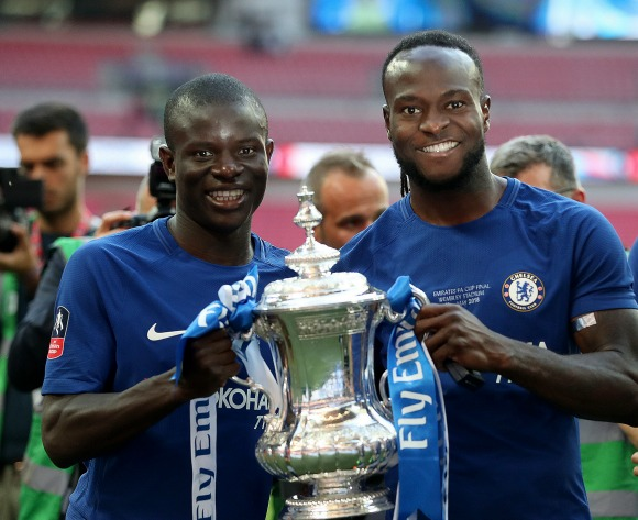 Another Nigerian lifts the English FA Cup