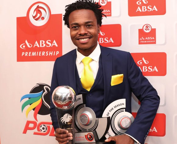 Mamelodi Sundowns' Percy Tau wins big at 2017/18 PSL Awards