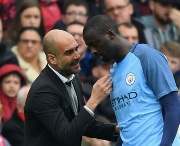 'Yaya Toure has a huge personality' - Pep Guardiola