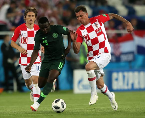 Oghenekaro Etebo unfazed by own goal against Croatia
