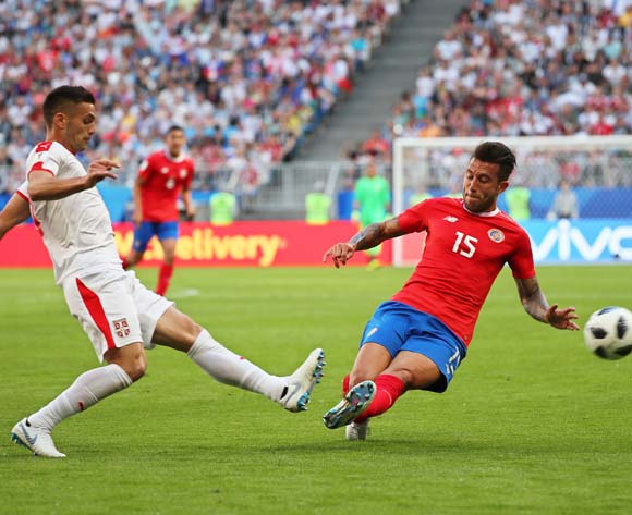 Serbia edge Costa Rica in Group E opener