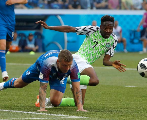 2018 World Cup: Nigeria 2-0 Iceland - As it happened