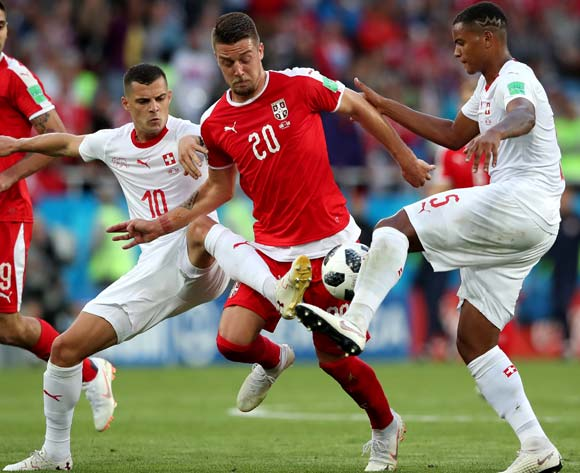 Switzerland rally to stun Serbia in Group E