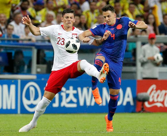 Colombia thrash Poland to keep hopes alive