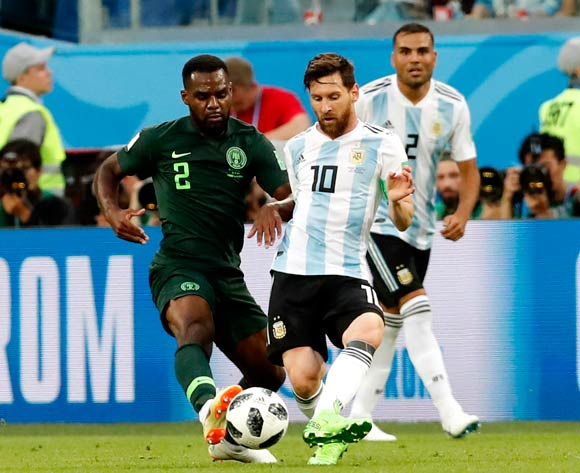 Nigeria lose to Argentina, exit World Cup
