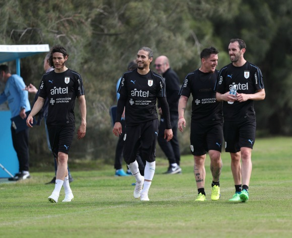 Uruguay's Diego Godin wary of Egypt threat