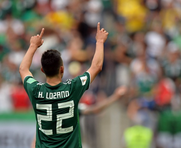 Mexico stun defending champions Germany
